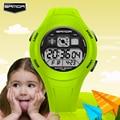 SANDA Niños Reloj Deportivo LED Reloj de Pulsera Digital Resistente A los Golpes de Nuevo La Luz de Alarma de Dibujos Animados Niños Reloj de Pulsera
