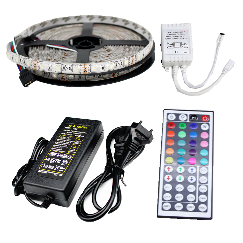 Ip65 Waterproof Led Strip Light 5050 Smd 300led 5M RGB Led