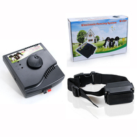 Electronic Pet Fencing System In-Ground Electric Dog Fence For 2dogs W-227 free shipping 1pc