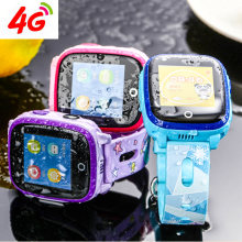 Newest 4G Android 6.0 GPS+LBS Precise Location IP67 Waterproof Sim Card Call Phone Smartwatch Kids Students Child(China)