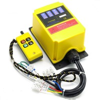 AC 220V Industrial Remote Control Switch Crane Transmitter 4 Channels Built In Contactor Lift Electric Hoist