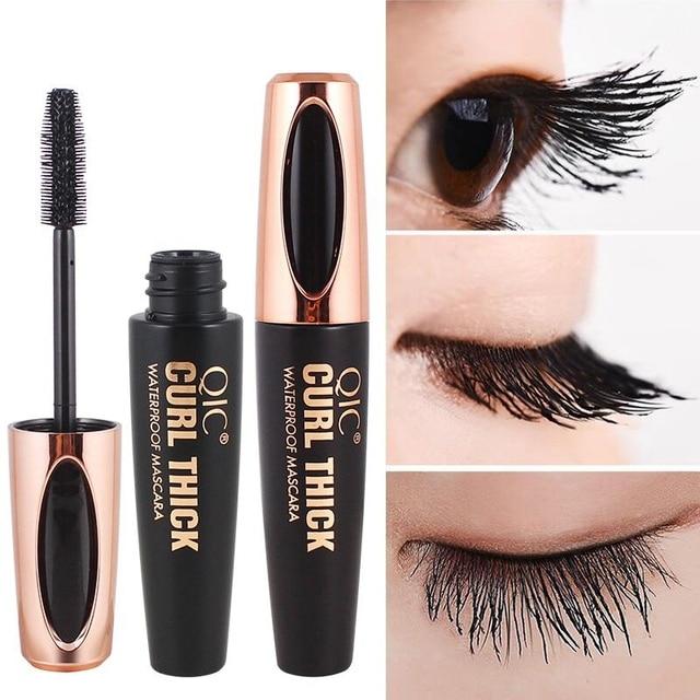 5248cd012ac 2019 makeup 4d silk fiber eyelash mascara Long Curling mascara Makeup  Eyelash Black Waterproof Fiber Mascara