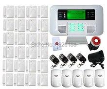 free shipping DHL Generic FDL-40B-408 Wireless Wired GSM PSTN Intelligent Burglar Inturder Home Security Alarm System