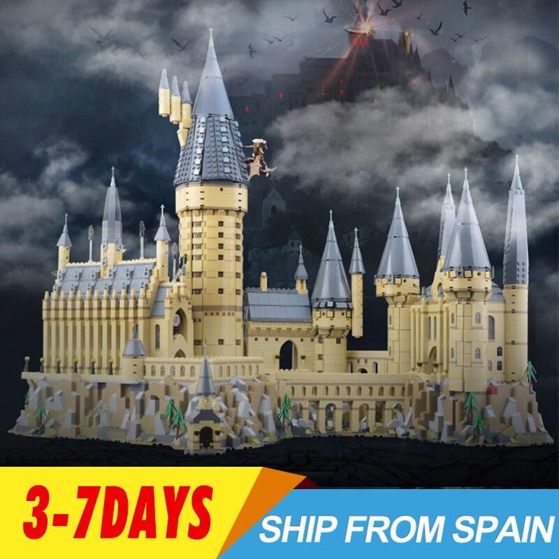 16060 Magia Hogwarts Castello Scuola Compatibile con 71043 Blocchi di Costruzione di Mattoni Giocattolo per bambini regali