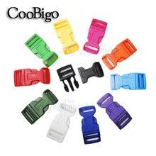 """1 шт. 5/"""" 3/4"""" """" изогнутые боковые пряжки с контурным цветным паракордовым браслетом, рюкзаки, сумки для обуви, ошейник для домашних животных, аксессуары для самостоятельной сборки"""