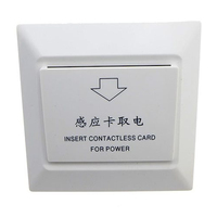 Special Card To Take Power Sensor Energy Saving Switch For Hotel Door Lock