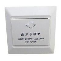 Cartão para Tomar o Poder especial Interruptor de Poupança de Energia do Sensor para o Hotel Fechadura Da Porta