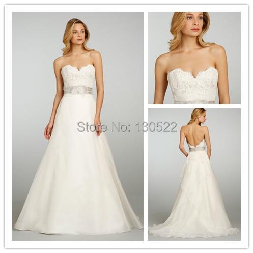 Free Shipping We 1984 Sexy Low Back Wedding Dress Whole Sale China