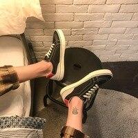 2018 Мужская обувь весна-осень Новые повседневные Вулканизированная Обувь На Шнуровке в полоску мелкой низкие кеды