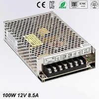 Alimentazione 100 W 12 V 8.5A mini formato ac dc converter power supply unit ms-12 v cc variabile regolatore di tensione