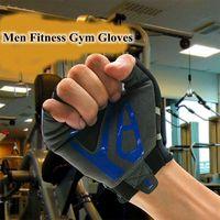 Black Green Colors Men Hiking Gloves Outdoor Gym Half Finger Glove Multifunction Weight Lifting Antiskid Sport Tactical Gloves