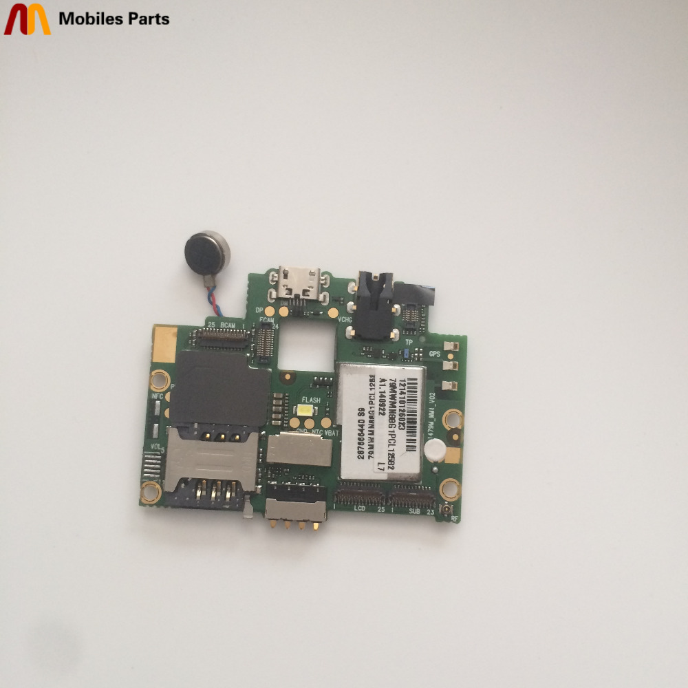 Used Mainboard 1G RAM+8G ROM Motherboard For THL 4000 MTK6582 Quad Core 1820x720 4.7 Inch Free Shipping