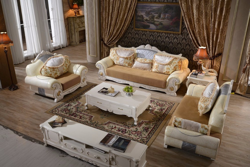Delightful 2017 Bedroom Set And Living Room Furniture FREE SHIPPING Delivery To MOSCOW  King Size Bed,dresser,wardrobewith Leather Sofa In Bedroom Sets From  Furniture ... Part 12