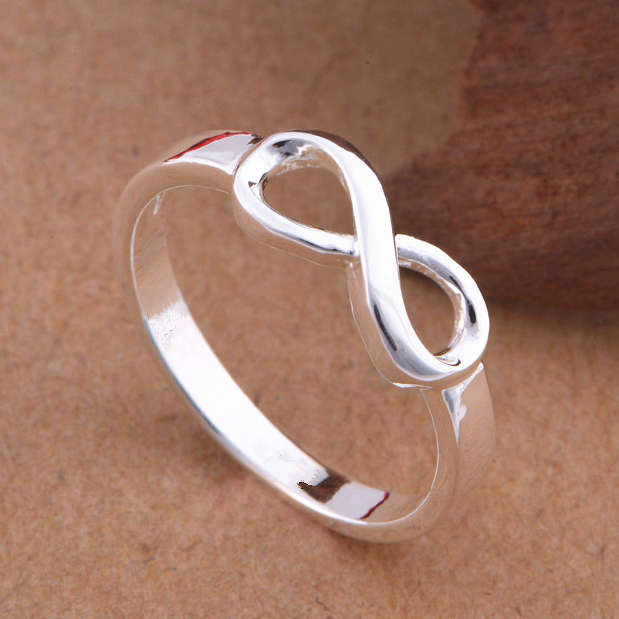 Classic infinity rings for women best sister best friend jewelry classic infinity rings for women best sister best friend jewelry love forever infinity symbol rings size 6 7 8 9 birthday gift in rings from jewelry buycottarizona Choice Image