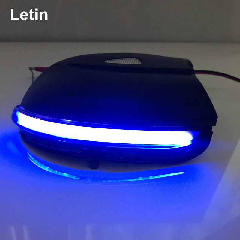 Upgrade blue! For VW Scirocco MK3 Passat CC B7 Dynamic Mirror Indicator Blinker Side LED Turn Signal Light Sequential EOS Beetle