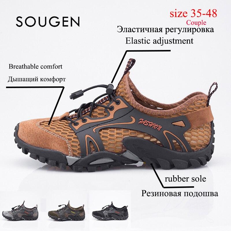 Male Shoes Adult Sneakers Summer Mens Trainers Male Shoes Sports Krasovki Men Size16 Mens Sneakers  Zapatillas De Agua Unisex