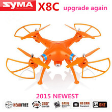 SYMA X8C RC Drone Quadcopter with 2 MP Wide Angle Camera GoPro Camera applicable Big Quad copter Hobby Helicopter vs DJI Phantom