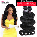 Unprocessed Human Virgin 7A Peruvian Virgin Hair Body Wave Human Hair Ishow Hair Products Peruvian Body Wave Mix Length 2pcs/Lot