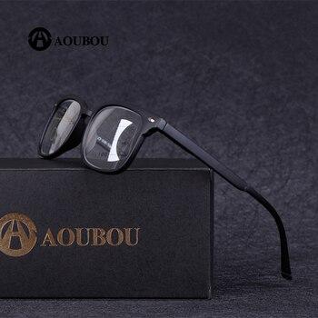 46becf73fc AOUBOU de alta calidad Unisex Multifocal Progresiva lente gafas de lectura  de las mujeres de los hombres de la presbicia hipermetropía lentes bifocales  A010