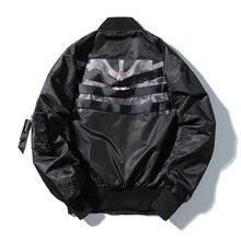 9047a40a8e28a Flexión línea Cinta de moda hip hop streetwear botín Hipster Marca ropa de  hombre Delgado ocasional chaquetas hombre otoño nueva.