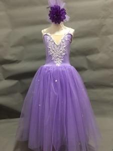Image 4 - バレリーナドレスのために大人女性バレエドレスモダンダンス衣装バレエの衣装大人の女の子女性