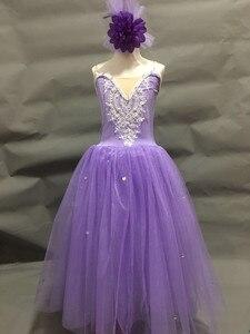 Image 4 - ballerina dress for kids girls adult women ballet dress tutu girls modern dance costume ballet costumes for adult girls women