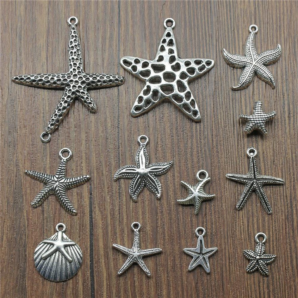 100Pcs Tibetan Silver Arrow Charms Pendant For Bracelet Jewelry 16x14mm