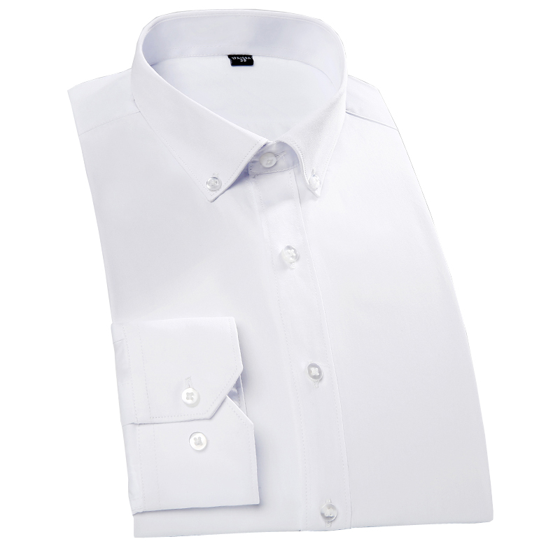 100% Cotton Solid Men Formal Dress Shirts Business Party Candy Color Wedding Tuxedo Shirts T0057