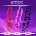 Men's flexiable penis cock cage nets male delay rings adult sex toys for men