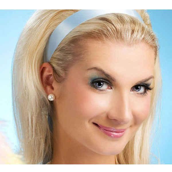 100% 진짜 925 실버 스터드 귀걸이 여성을위한 화이트 블랙 자연 담수 진주 신부 라운드 귀걸이 그릴 선물