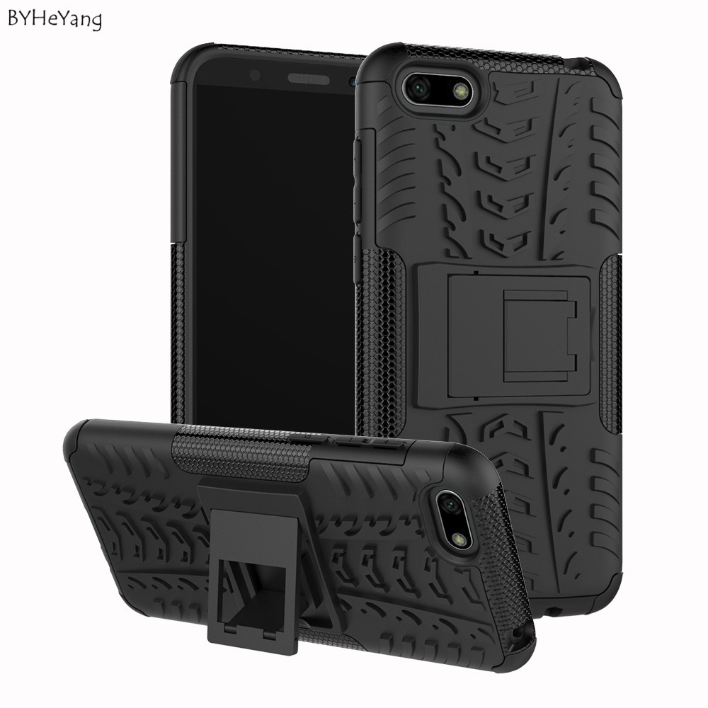 free shipping 295f5 7b2dc For Huawei Honor 7S Case 5.45Inch Luxury Shockproof Armor Back Case Phone  Case For Huawei Honor 7S 7 S DUA-L22 Case