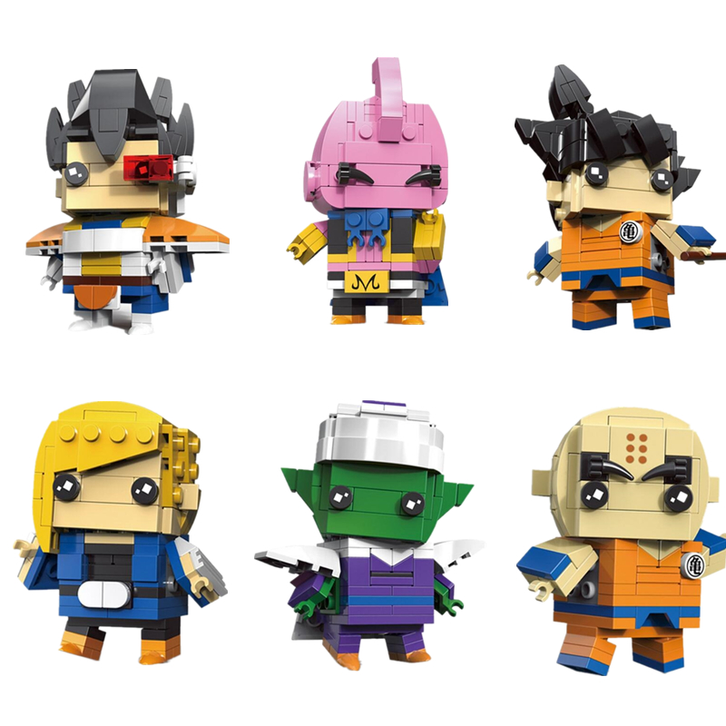 1pcs Building Blocks Bricks  Dragon Ball Z Series Super Trunks Action Toys Kids LEGO Minifigures