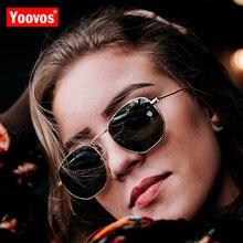 Yoovos 2019 Vintage Metal Mirror Sunglasses Women/Men Brand Designer Sun Glasses Fashion Classic Driving Eyewear Oculos De Sol osg heart shaped sunglasses women metal mirror lens fashion sun glasses for lady men oculos de sol new eyewear brand designer