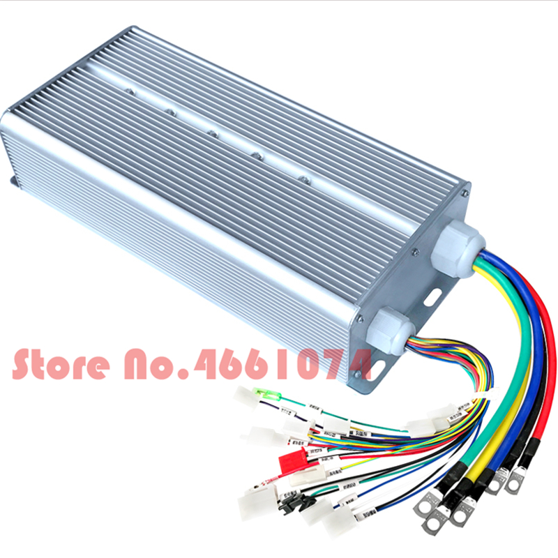 Fast Shipping <font><b>5000W</b></font> 120V MAX 100A suit for DC brushless motor 2000W~3000W E-bike <font><b>electric</b></font> <font><b>bicycle</b></font> speed control image