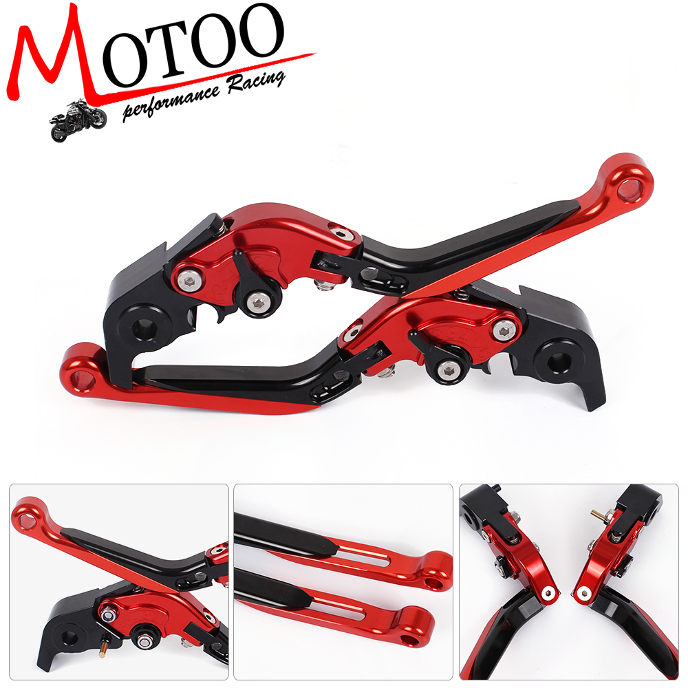 Motoo - F-11 H-11 Adjustable CNC 3D Extendable Folding Brake Clutch Levers For DUCATI 1198/S/R 09-11  1098/S/Tricolor 07-08 adjustable billet extendable folding brake clutch levers for bimota db 5 s r 1100 2006 11 07 09 10 db 7 08 11 db 8 1200 08 11