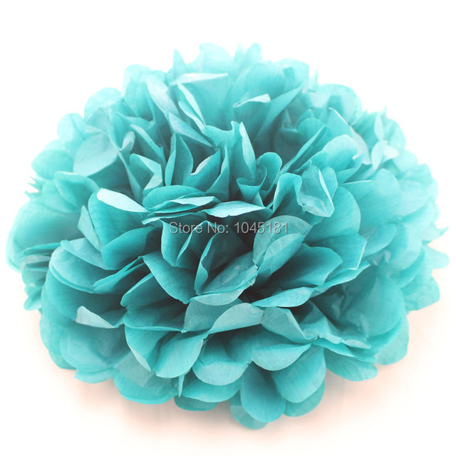 Ipalmay free shipping 10 tissue paper flowers wedding party ipalmay free shipping 10 tissue paper flowers wedding party decoration colorful tissue paper pom poms mightylinksfo