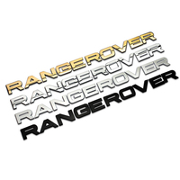 For Land Rover Range Rover Evoque Sport Edition Logo Sticker Head Cover Letter Emblem Badge Decals Car Styling Accessories