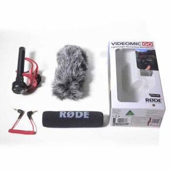 DSLR Cemara Microfono Rode VideoMic Go Video Microfono Della Macchina Fotografica per Canon Nikon Sony Microfono Rode Go Rycote Video Mic