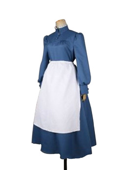 Howl's Moving Castle cosplay costume!Sophie Housemaid dress