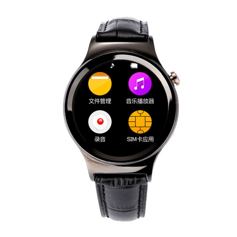 2016 New Original S3 Bluetooth Smart Watch With SIM Slot Heart Rate Monitor font b Smartwatch