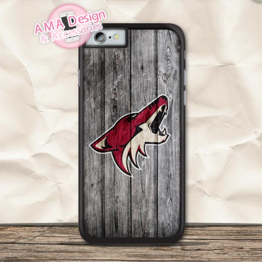 Ice Hockey Arizona Coyotes Protective Case For iPhone X 8 7 6 6s Plus 5 5s SE 5c 4 4s For iPod Touch