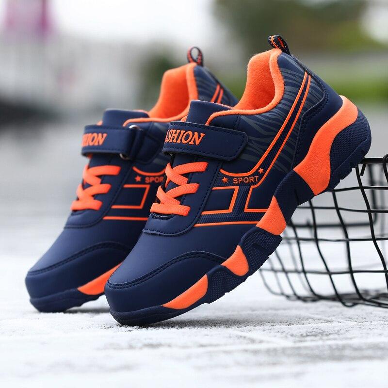 2019 Teenage Boys Shoes Orange Black