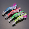 New LED Electronic Luminous Shrimp Lure Squid Night Fishing Squid Jigs Lures Bass Bait  Fish Tackle Equipment Accessory