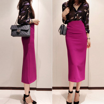 Compare Prices on High Waisted Long Pencil Skirt- Online Shopping ...