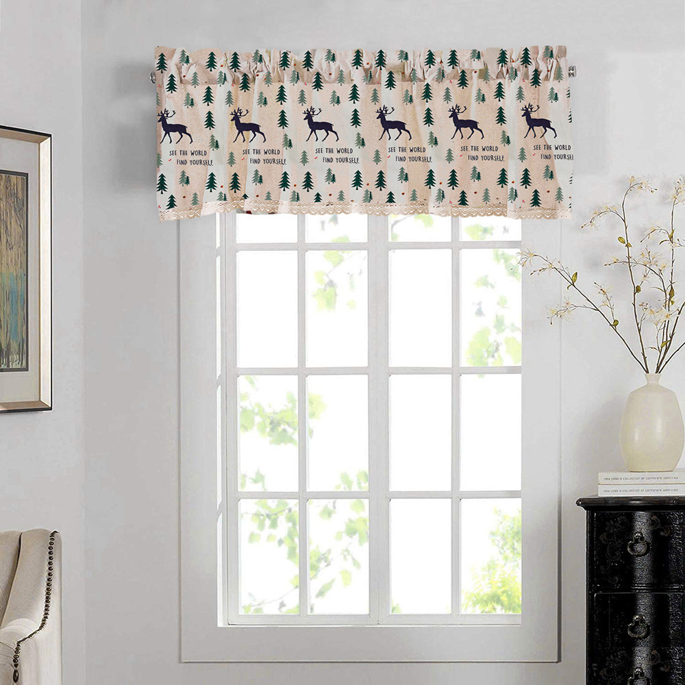 Blackout Thermal Blinds Valance Curtains Extra Wide And Short