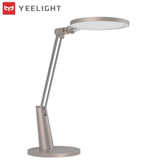 цена Original xiaomi Mijia Yeelight Smart desk 15W LED Smart Eye Protection Table Lamp Dimming For Mi home APP Control Reading Light