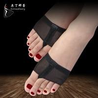 1 Pair Elastic Belly Dance Toe Pad Heel Protector Professional Ballet Dance Socks Costumes Foot Thong