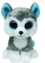 Bright Big Eyes Soft Plush Toys Animal Pet font b Doll b font Siberian Husky Dog
