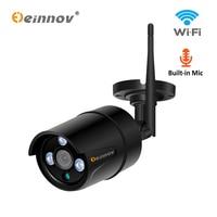 Einnov Video Surveillance Camera IP Outdoor Wifi Home Wireless Security 1080P Bullet Camera 2MP Audio Onvif P2P HD Waterproof