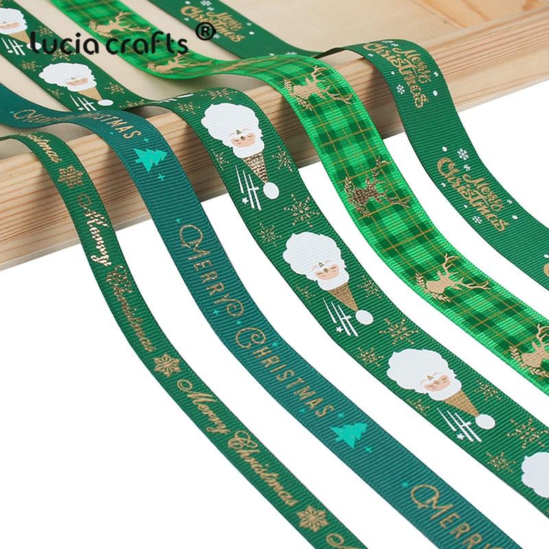 HTB1eRuee79E3KVjSZFGq6A19XXab 5yards/lot 10mm/15mm/25mm Polyester Printing Christmas Grosgrain Ribbons DIY Xmas Party Wrapping Decor Supplies Material X0203